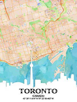 Toronto van Printed Artings