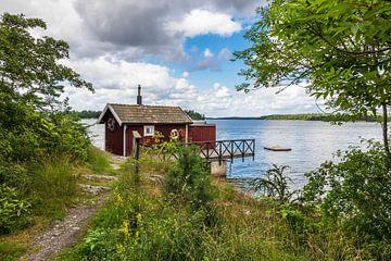Archipelago on the Baltic Sea coast in Sweden van Rico Ködder