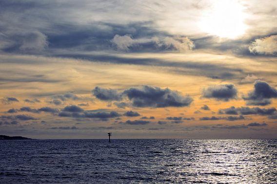 Zonsondergang Noordzee III