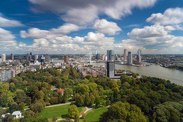 Wolken Rotterdam Euromast von