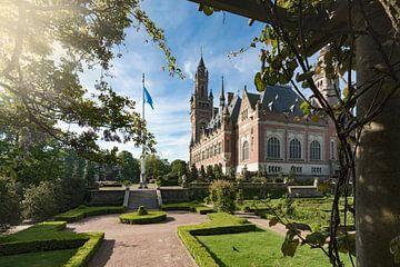 tuin van het Vredepaleis in Den Haag van gaps photography