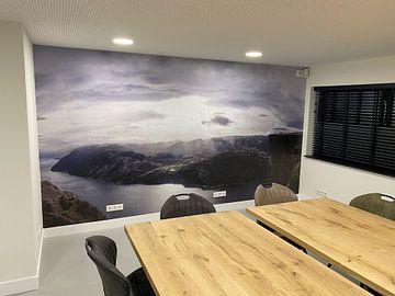 Klantfoto: Preikestolen Noorwegen
