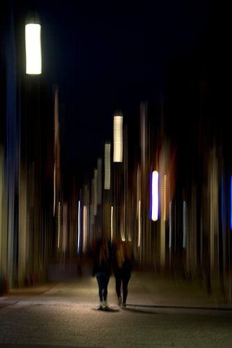 City lights van