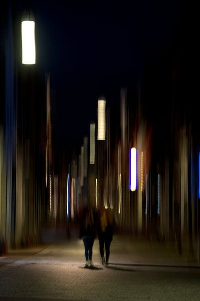 City lights van Jurjen Biesbroek