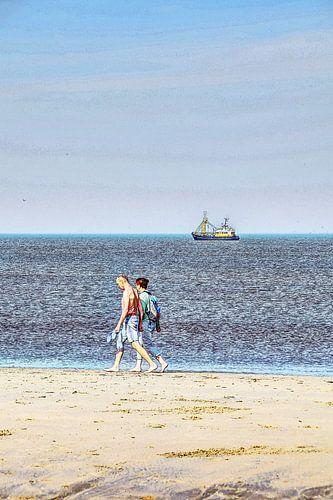 Strand Noordwijk aan Zee Nederland