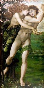Edward Burne-Jones - Phyllis en Demophoon