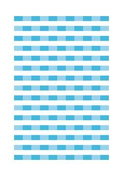 Wasser abstrahiert durch geometrische Formen von Raymond Wijngaard
