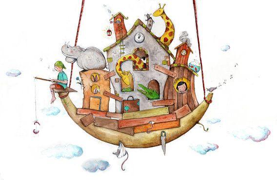 De Ark van Noa van keanne van de Kreeke