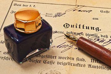 old receipt van Gunter Kirsch