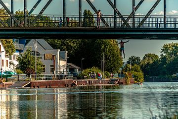 Dortmund  Kanalbrücke von Johnny Flash