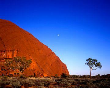 Ayers Rock, Australien van Hans-Peter Merten