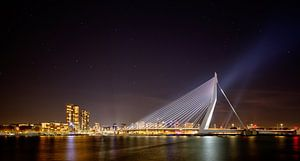 Rotterdam cityscape van