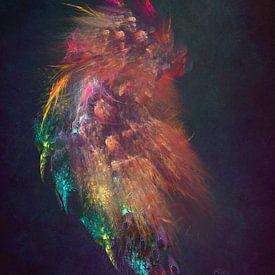 Fractals abstracte kunst Dragon #fractals #abstract van JBJart Justyna Jaszke