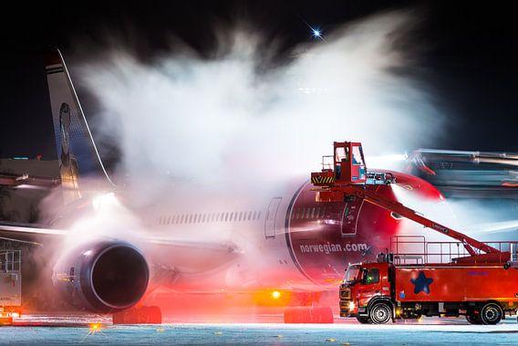 Dreamliner de-ice van Dennis Janssen