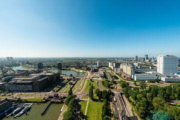 Rotterdam vanaf de Euromast. van Brian Morgan