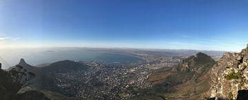 Kaapstad zuid-Afrika van Wesley Klijnstra