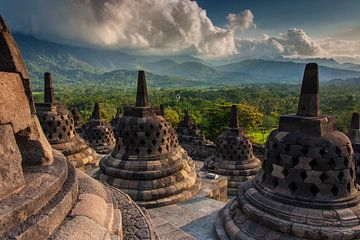 Borobudur tempel von Ilya Korzelius