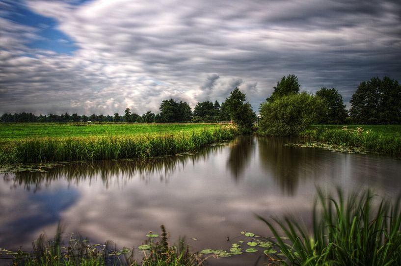 Frisian skies van Mike Bing