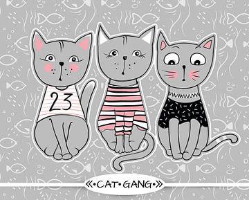 Kinderkamer poster - dieren - Meisjeskamer van STUDIO68 wanddecoratie