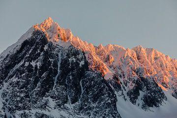 Zonsondergang op de Lyngen Alpen, Noorwegen von Martijn Smeets