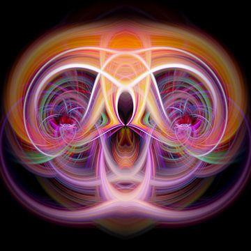 Figure abstraite - E.T. sur Sabine Wagner