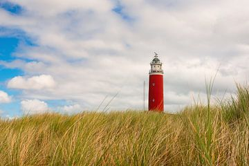 Sommerimpression Leuchtturm Texel van Angela Dölling