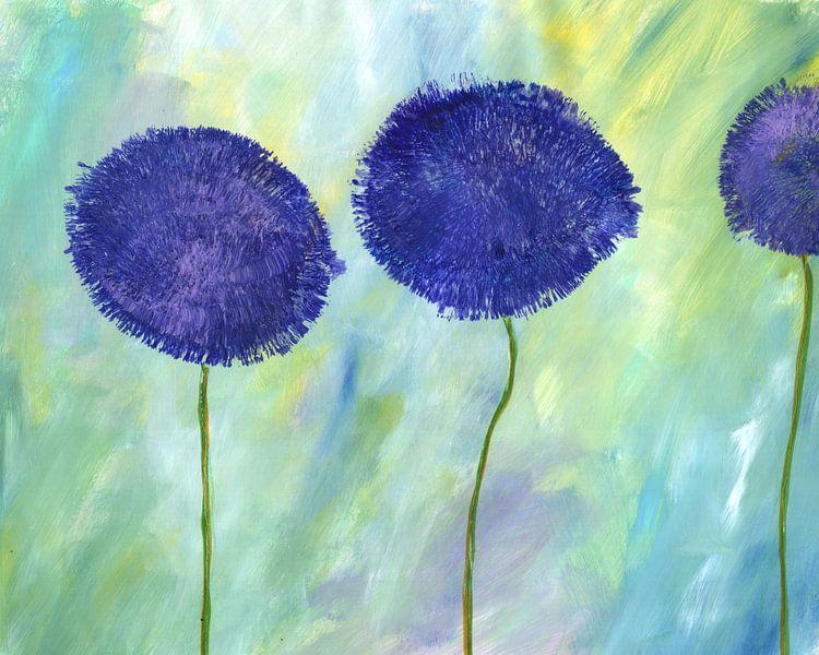 Allium Purpur van Katarina Niksic