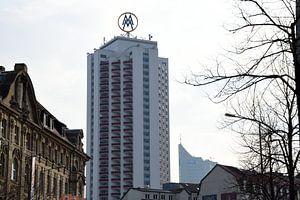 Wintergarten-Highrise and Panorama Tower Leipzig van
