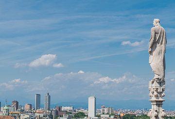 Milaan, skyline van arjan doornbos