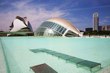 Valencia - L'Hemisfèric/ Ciudad de las Artes y las Ciencias von Frank Herrmann