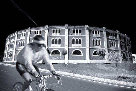 Rennradfahrer (Duoton)