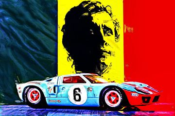 Een legende - Jacky Ickx van Jean-Louis Glineur alias DeVerviers
