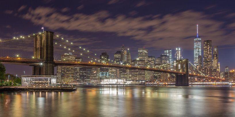 New York Skyline - Brooklyn Bridge 2016 (6) von Tux Photography
