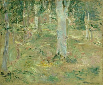 Forêt de Compiègne, Berthe Morisot sur