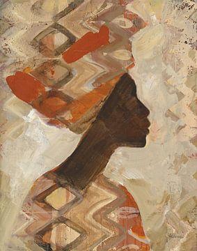 Afrikanische Schönheit I, Albena Hristova von Wild Apple
