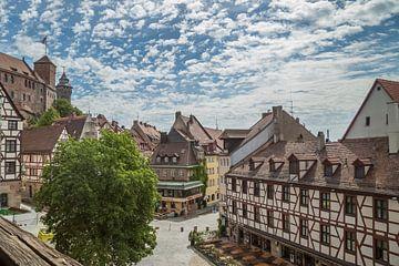 NÜRNBERG Blick auf die Altstadt  von Melanie Viola