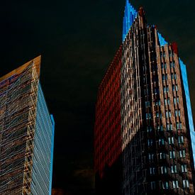 impressie Potsdamer Platz in Berlijn van Hanneke Luit