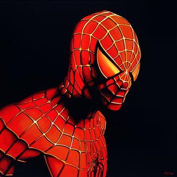 Spider-Man schilderij van Paul Meijering