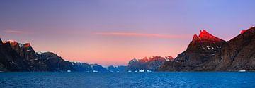 A-Fjord, Scoresby Sund, Groenland van