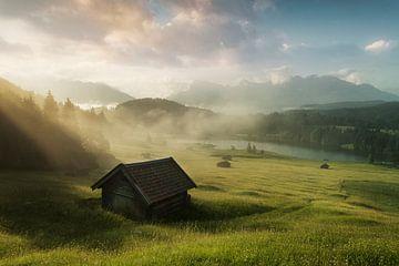 Geroldsee in Bayern von Stefan Schäfer