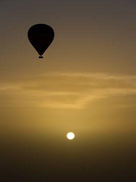 Zonsopgang boven de woestijn von Bob de Bruin