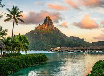 Zonsopkomst Bora Bora van