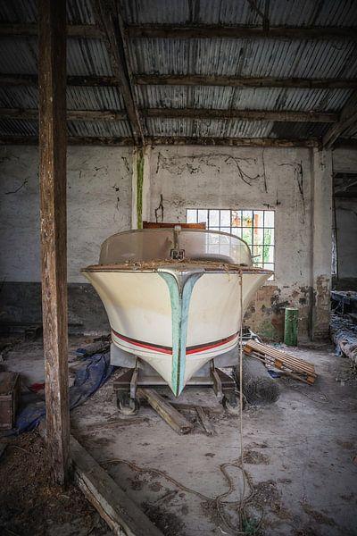 Classic speedboat von Leo van Valkenburg