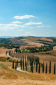 Villa op het Toscaanse platteland van Leo Schindzielorz