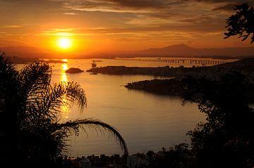 Zonsondergang von Fotografie door Menno
