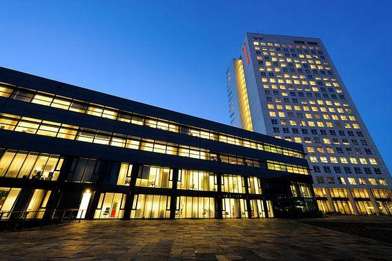 Het kantorencomplex Galgenwaard in Utrecht met Brunel en Galghenwert van Donker Utrecht