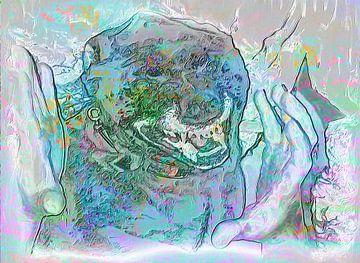 Zähnefletschen van Helmut Englisch