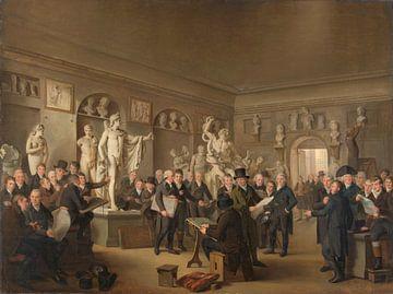 Die Skulpturengalerie der Felix Meritis Gesellschaft, Adriaan de Lelie, 1806 - 1809