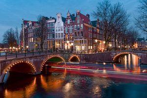 Keizersgracht Amsterdam in de avond van Captured By Manon