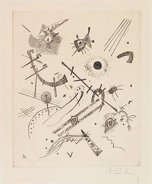 Kleine Welten XI, WASSILY KANDINSKY, 1922 von Atelier Liesjes